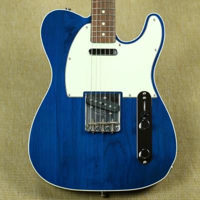 Fender Japan '62 Telecaster Custom Reissue - 2004 CIJ - Trans Blue for sale