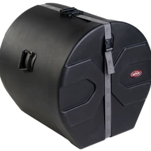 """SKB 1SKB-D1626 16x26"""" Molded Bass Drum Case with Padded Interior"""