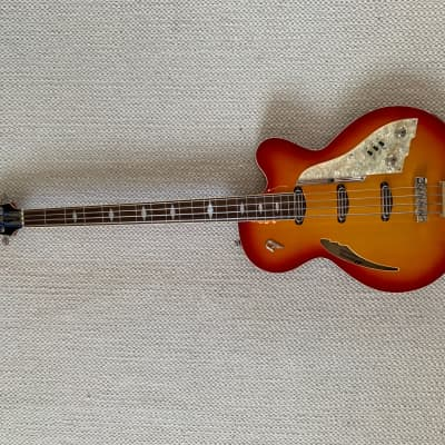 Duesenberg  Motown Bass  2013 Fireburst for sale