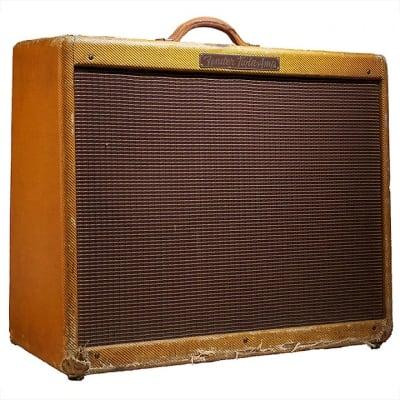 "Fender Twin 5E8 Narrow Panel 50-Watt 2x12"" Guitar Combo 1955"
