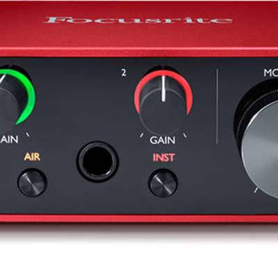 Focusrite Scarlett Solo 3rd Gen USB Audio Interface 2-in / 2-out