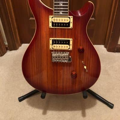 PRS SE Custom 24 Zebrawood Electric Guitar Vintage Sunburst – Upgraded w/ Locking Tuners 2017-20
