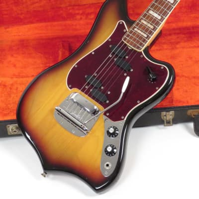 Fender Custom (Maverick) 1969 Sunburst Rare Model with Original Case for sale
