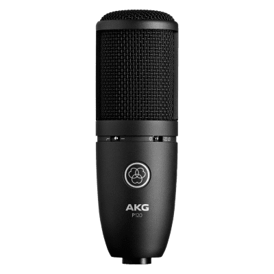 AKG P120 General-Purpose Medium Diaphragm Cardioid Condenser Microphone Black