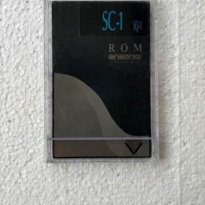 Ensoniq SC-1 Sound Library ROM Card for SQ KS + extra sounds soft CD bundle!