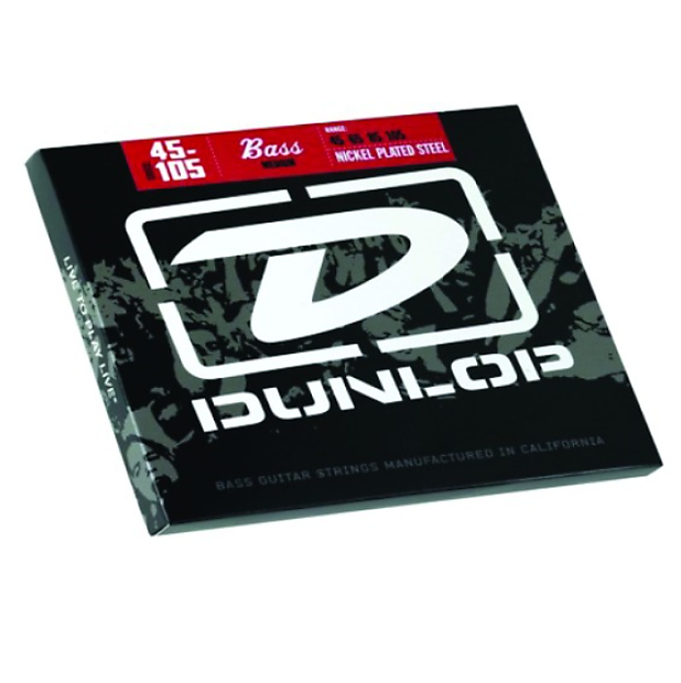bass guitar strings made in the usa dunlop nickel wound reverb. Black Bedroom Furniture Sets. Home Design Ideas