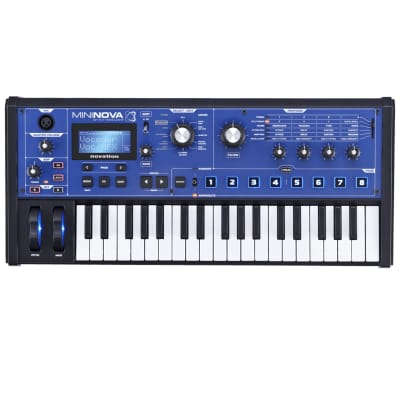 Novation MiniNova Compact 37 Note Synthesizer USB MIDI Keyboard Controller