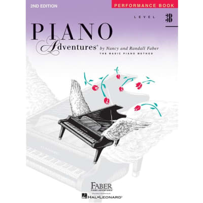 Piano Adventures: A Basic Piano Method - Performance Book Level 3B