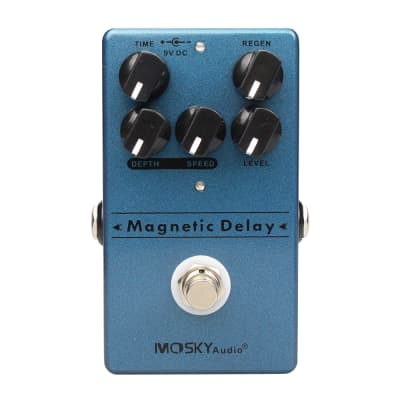 Mosky Magnetic Delay Guitar Pedal