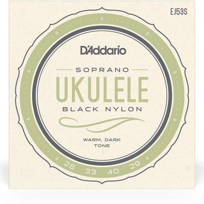 D'Addario EJ53S Pro-Arté Rectified Ukulele Strings, Hawaiian-Concert