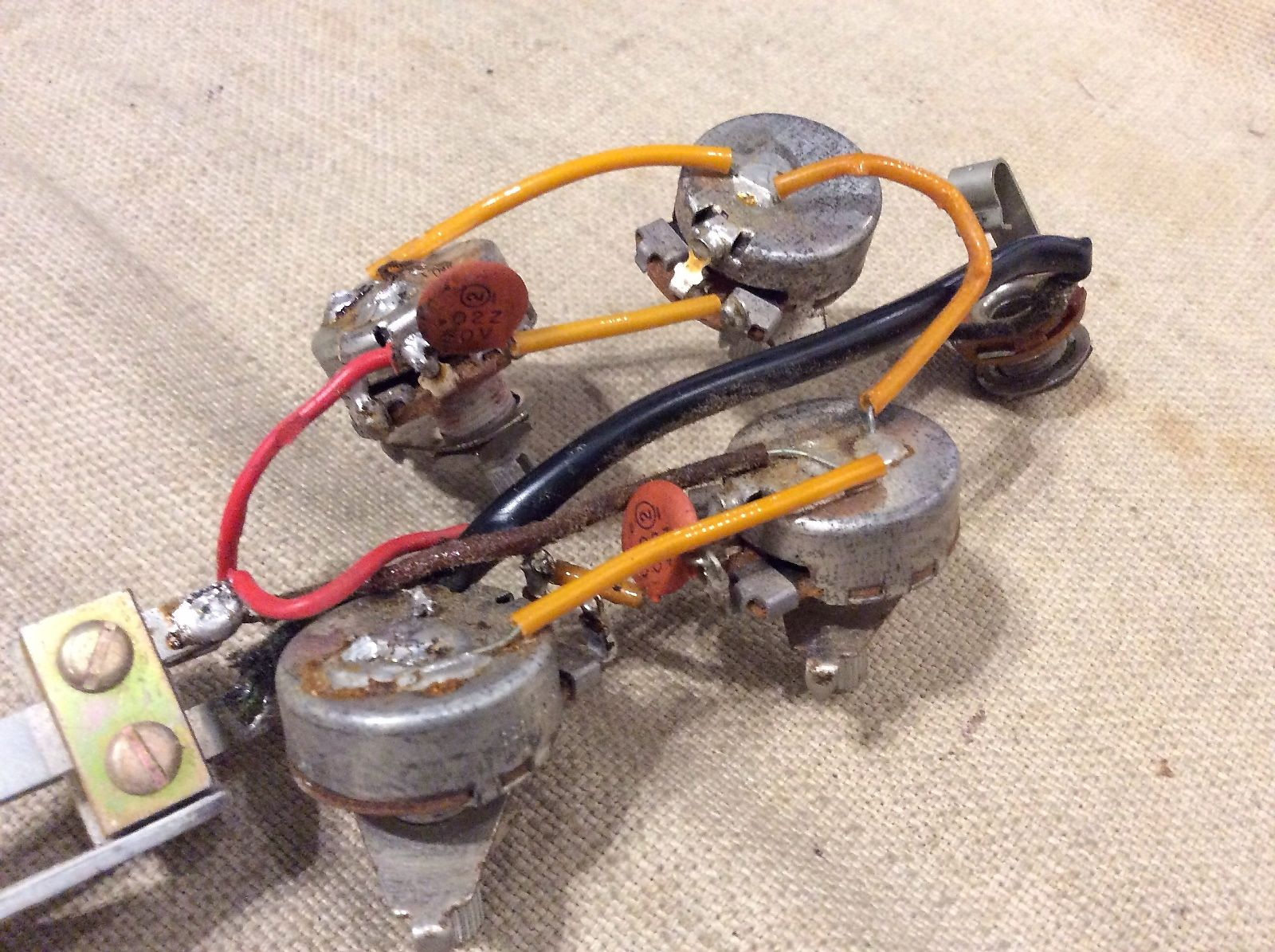 Historic Sg Wiring Question My Les Paul Forum Capacitor And 50 S Img