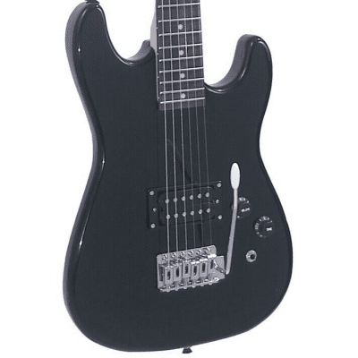 J Reynolds 3/4 Size Electric Guitar - Black - JR5B