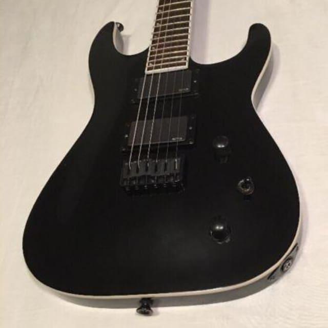 Jackson SLATXMG3-6 Electric Guitar Satin Black Soloist neck thru image