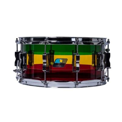 Ludwig LS903VXXGR Vistalite 6.5x14 Snare Drum - Island Sunset