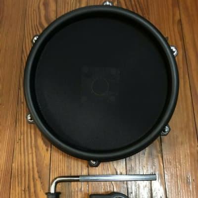 "Alesis Nitro 8"" Mesh Drum Pad NEW Tom w/Clamp & L-Bar Single Zone Expansion Pad"