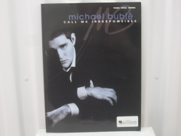 Michael Buble Call Me Irresponsible Piano Vocal Guitar Chords Reverb