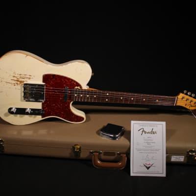 Fender Fender Custom Shop '61 Telecaster Heavy Relic de 2012 2012 White Blonde for sale