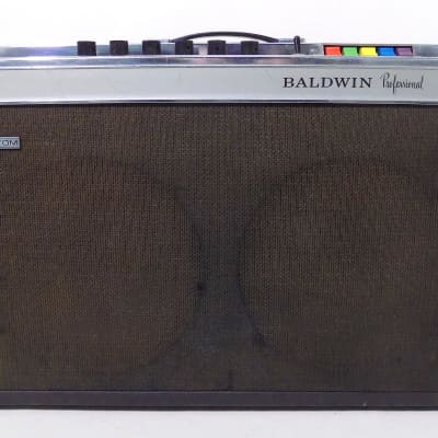 1965 Baldwin Professional C1 Supersound Custom 2x12 Combo Guitar Amp • Exc Tone for sale
