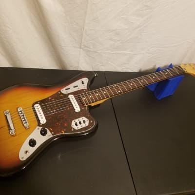 Fender Jaguar Baritone Custom Sunburst Crafted in Japan CIJ MIJ 28.5