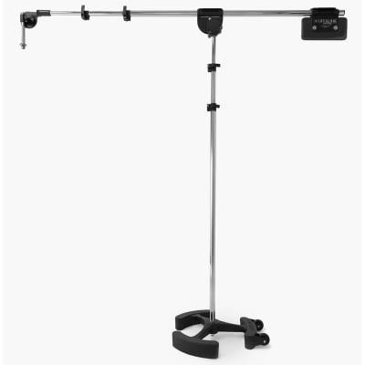 Latch Lake micKing 3300 - Boom Mic Stand (Chrome) | Pro Audio LA