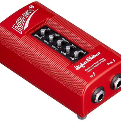 Hughes & Kettner Red Box 5 Classic DI and Amp Simulator,