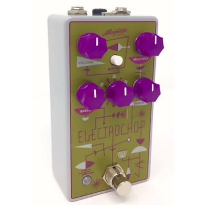 Magnetic Effects ElectroChop Optical Tremolo w/ True Bypass Guitar Effects Pedal
