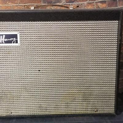 "Harmony H305A 1x12"" Guitar Combo Amp  1965 Blue"