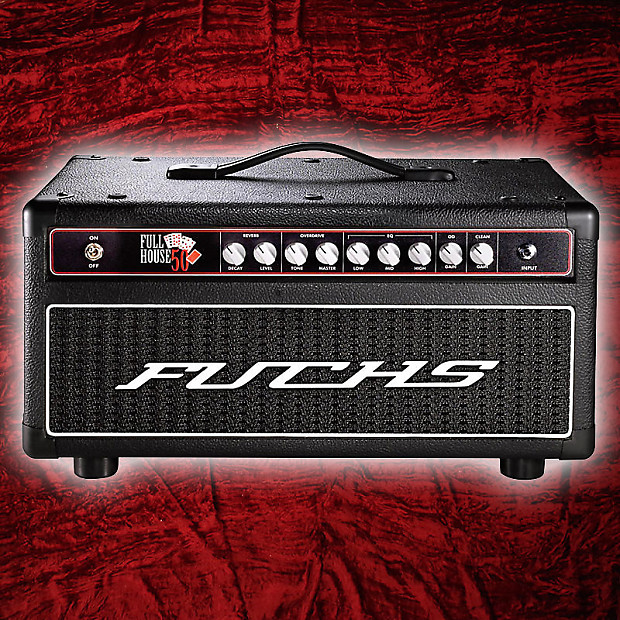 Fuchs Full House 50 amp head Black | Reverb