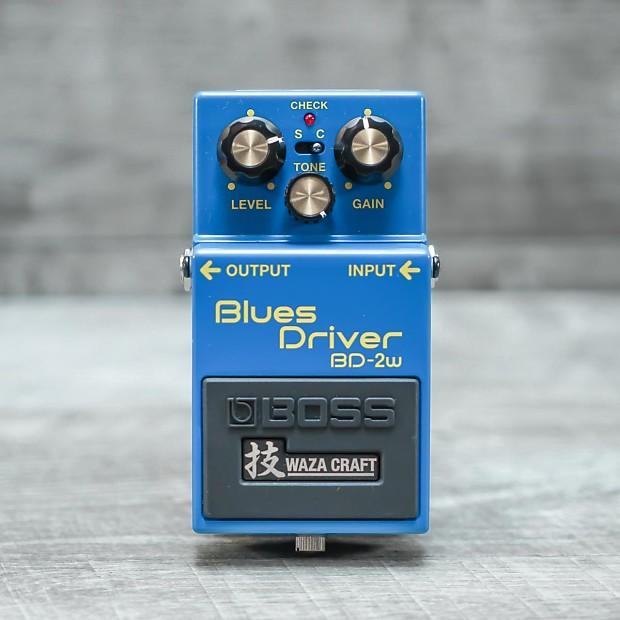Boss BD-2W Waza Craft Blues Driver Pedal | The Music Den