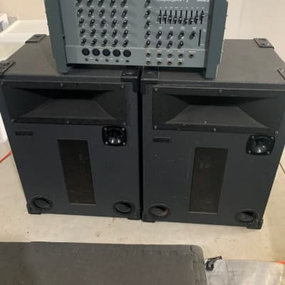 Biamp Mix Pac plus and Toa Speakers 90's Gray