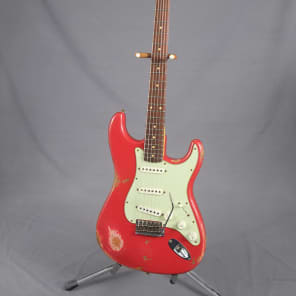 Fender Relic '60 Stratocaster  Faded Dakota Red for sale