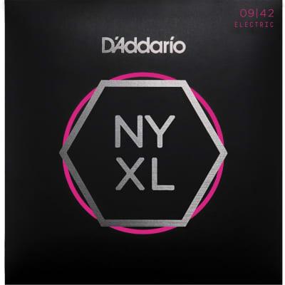 D'Addario NYXL0942 Super Light Nickel Wound Electric Guitar Strings - 9-42 Gauge