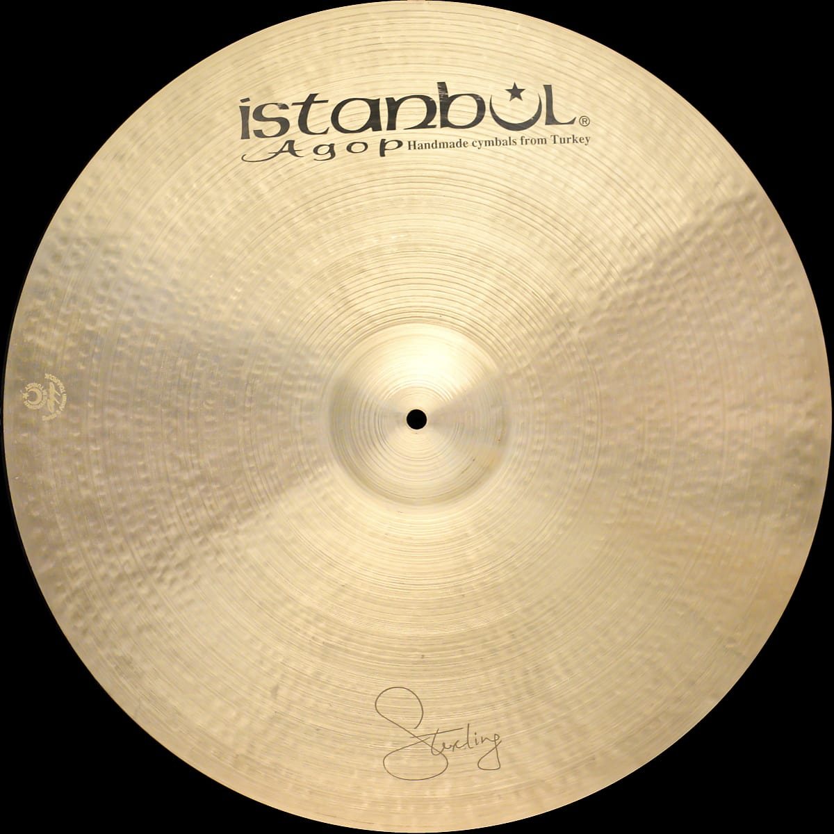 "Istanbul Agop Sterling 22"" Crash Ride 2820 g"