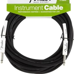 Fender Performance Series 25ft Instrument Cable for sale
