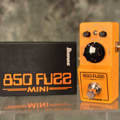 Ibanez FZMINI 850 Mini Fuzz Pedal w FREE Patch cable & Fast Same Day Shipping