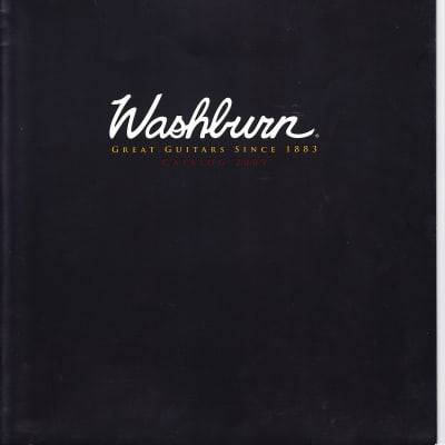 Washburn Product Catalog 2009 Black / Full Color