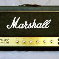 Marshall JCM 800 2204 50 Watt Head 1982 Black image