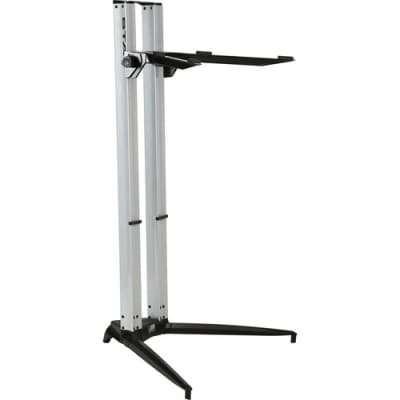 Stay 1200/01 Professional Aluminum Standing Height Keyboard Stand 068 Silver w FAST n Free Shipping