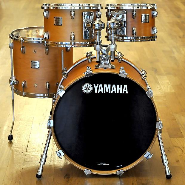 8e373cb2278b Yamaha Maple Custom Absolute 10 12 14 20 4pc Drum Kit Vintage