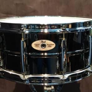 """Pearl STE1465BR  SensiTone Elite14x6.5"""" Brass Snare Drum"""