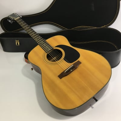 Conn F-10 1971 Natural Vintage Made in Japan MIJ Concert OM / 000 Body Rare Acoustic Guitar for sale