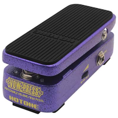Hotone VOW PRESS Switchable Volume / Wah Pedal for sale
