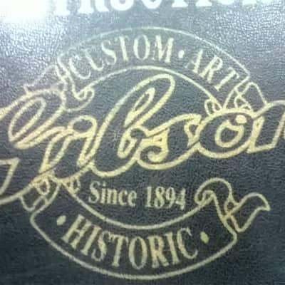 Gibson Les Paul 1990's Burgandy Lined Historic Custom Shop Case Deluxe Standard Custom Junior for sale