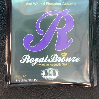 SIT RL1150 Royal Bronze Premium Acoustic Strings 11-50 Pro Light 2010s Standard