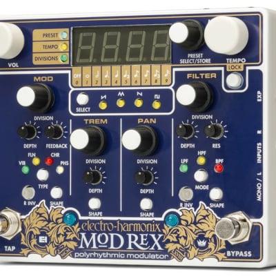 Electro-Harmonix MOD REX Poly-Rhythmic Modulator Pedal for sale