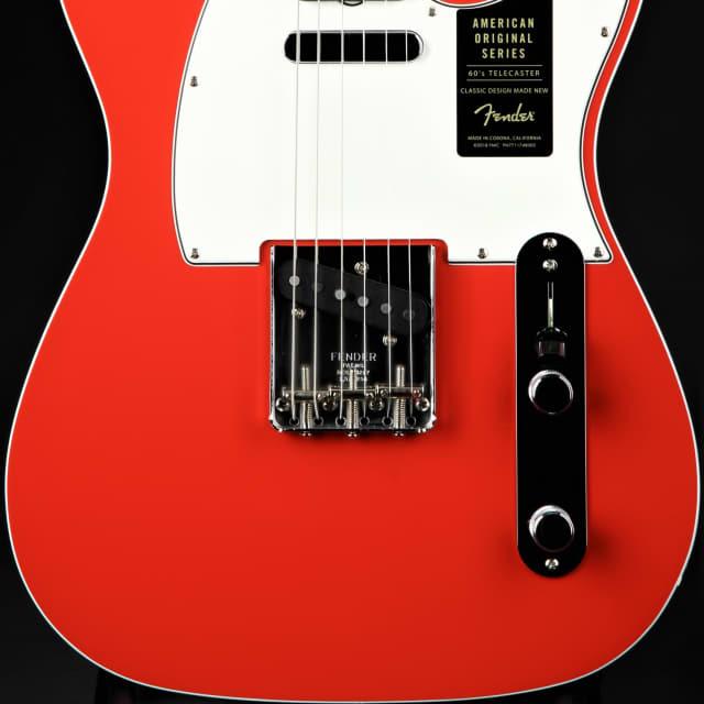 Fender American Original '60s Telecaster - Fiesta Red image