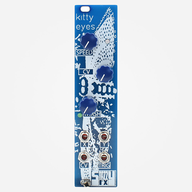 snazzy fx kitty eyes eurorack chaotic noise and cv source reverb
