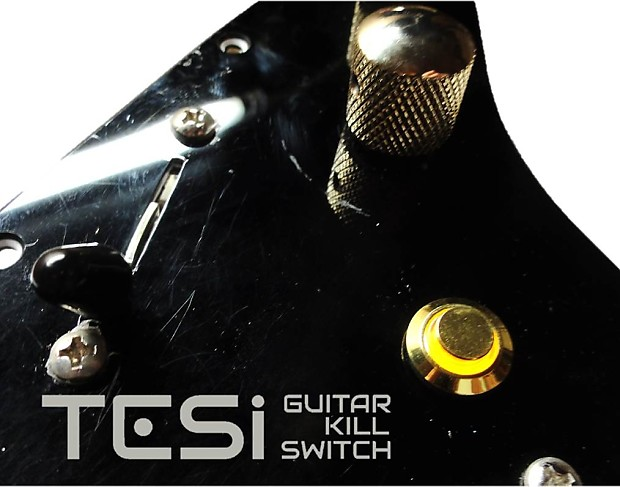 tesi poco 12mm led momentary guitar kill switch gold yellow reverb. Black Bedroom Furniture Sets. Home Design Ideas