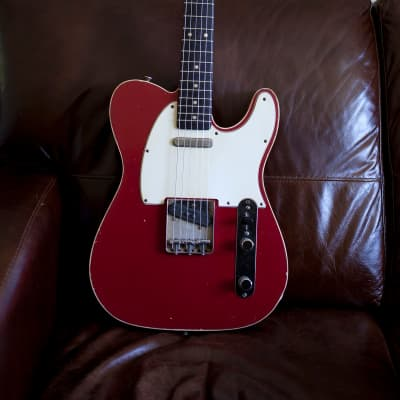Danocaster Candy Apple Red Telecaster 2020