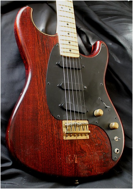 ibanez blazer 1981 electric guitar hard case made in japan reverb